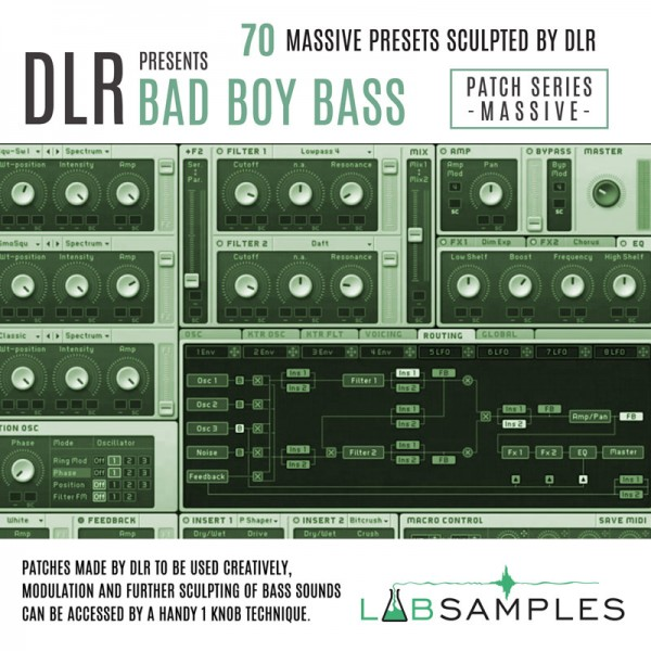 Bad Boy Bass- Massive Pack Vol.1